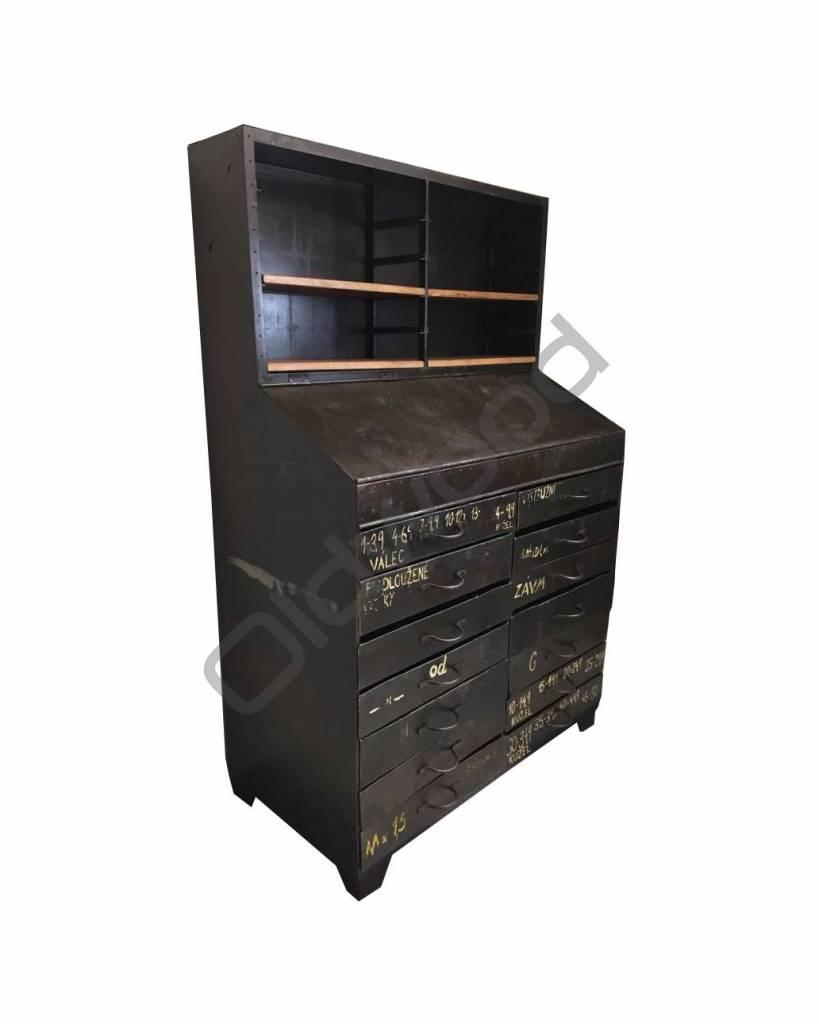 Industrieel meubel Industriële klepkast