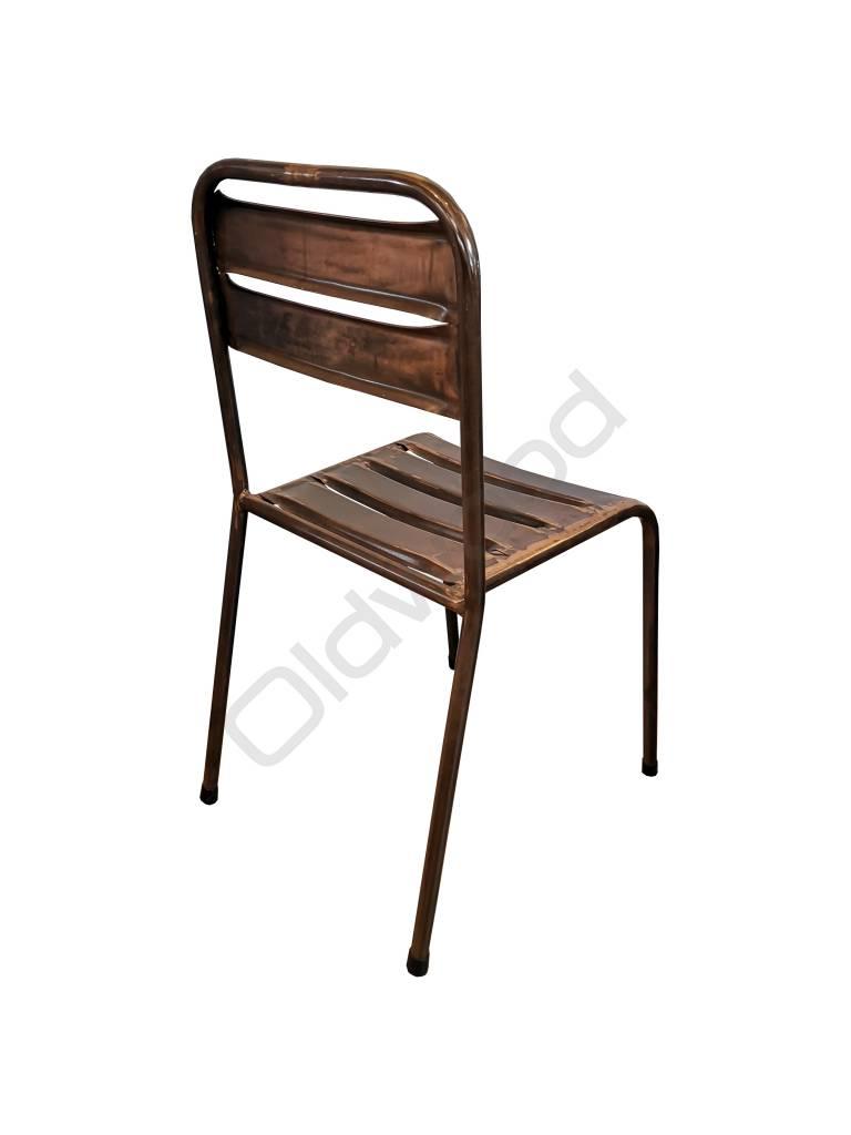 Industrieel meubel Metalen bistro stoel