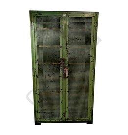 (Verkocht) Groene gaas locker