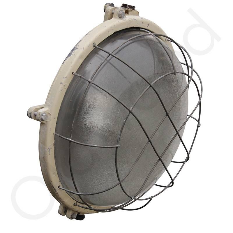 Industriële lamp - Mirek met gaas