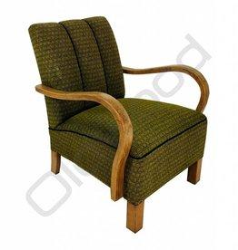 (Verkocht) Set Halabala fauteuils