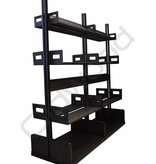 Large metal rack