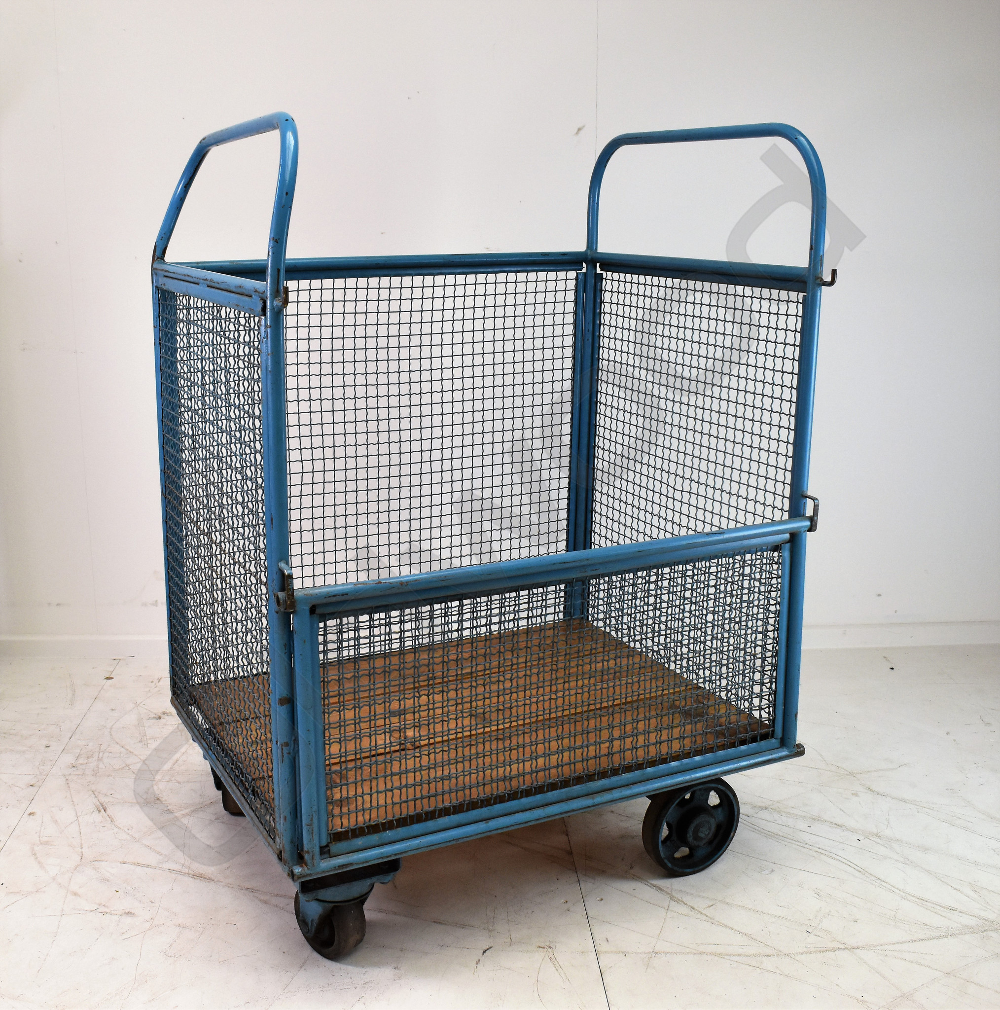 Vintage transport cart