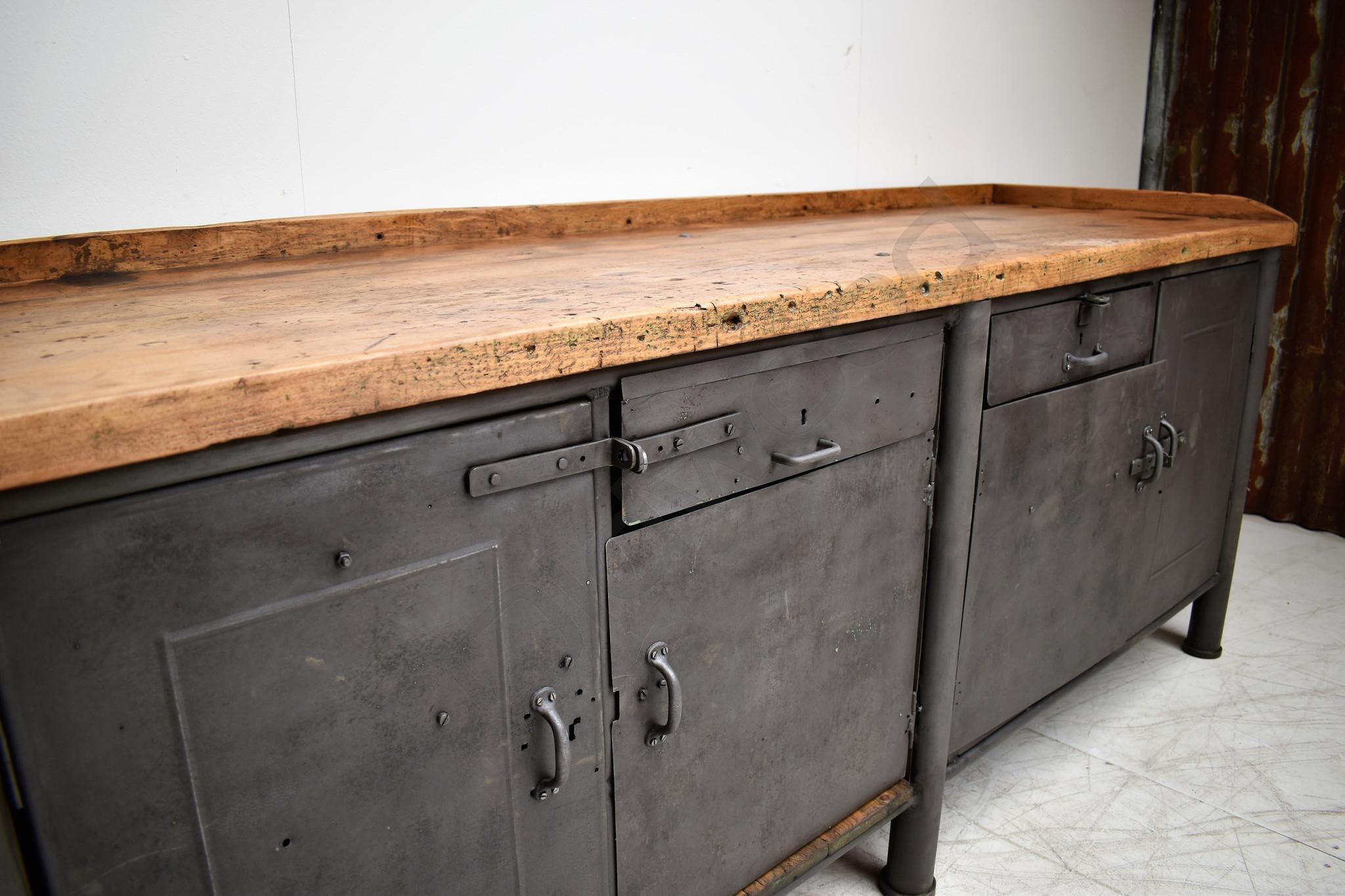 Tough kitchen island / dresser