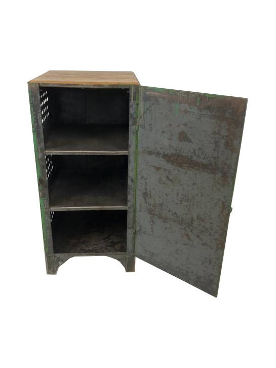 Groene locker/kast