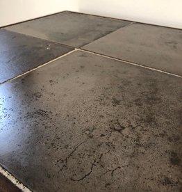 Oude bakkersvloer metaal