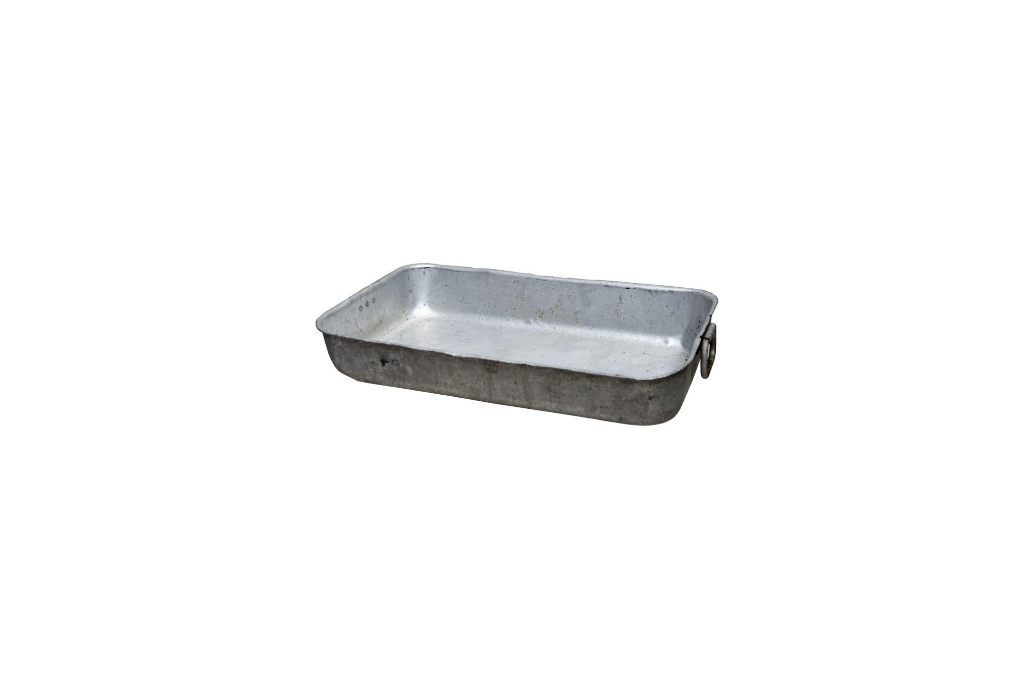 Vintage aluminium bak