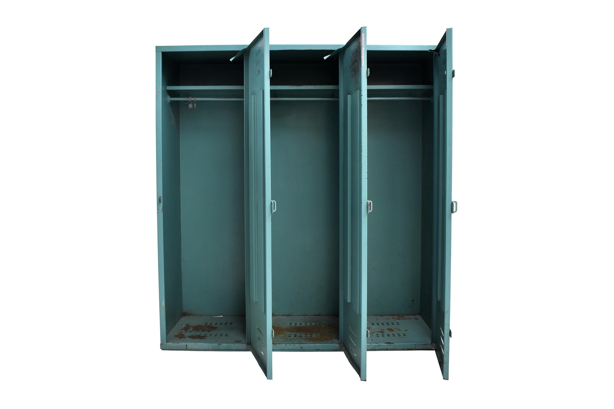 Industrieel meubel Industriële lockerkast, stoere locker