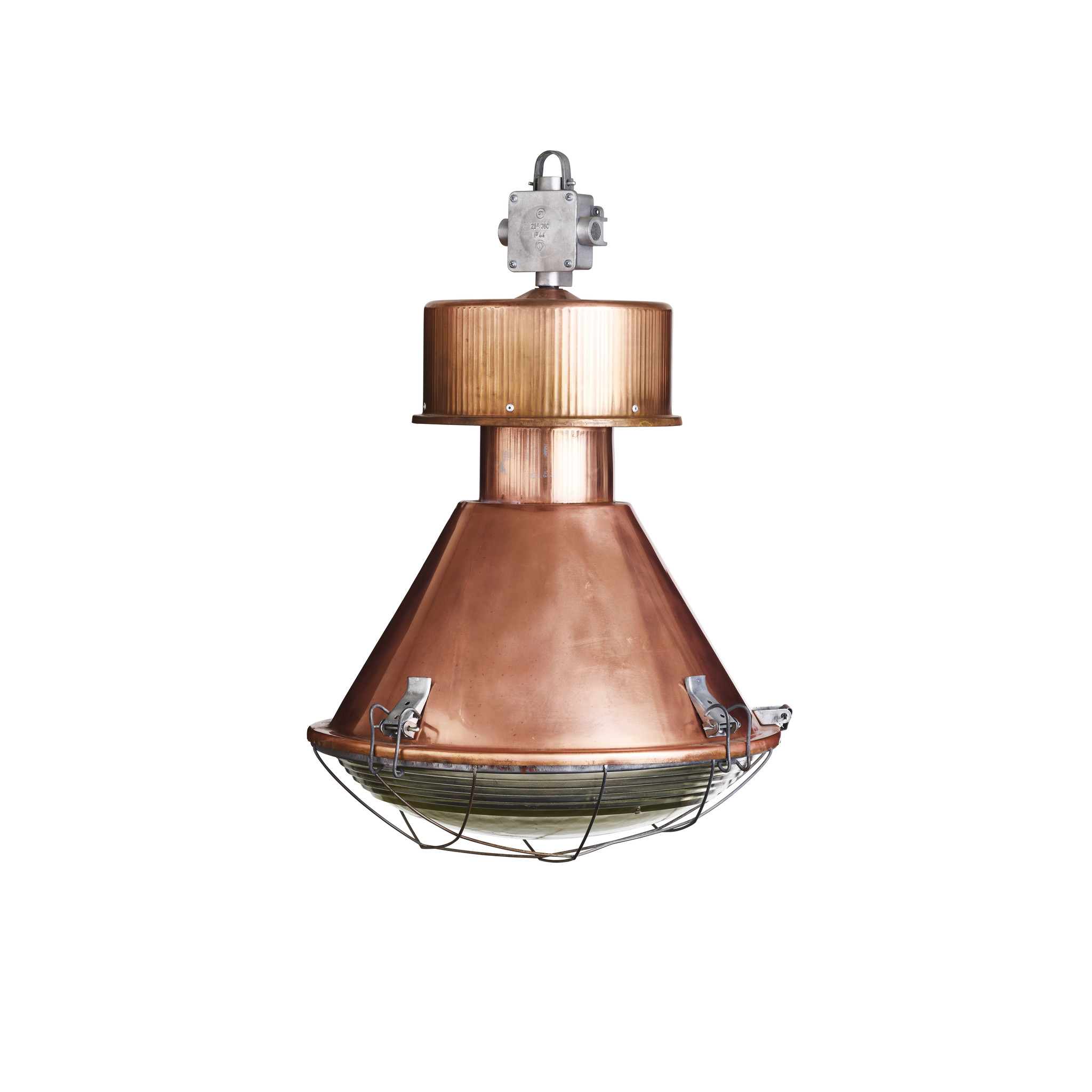 Industriële lamp - Tanek koper