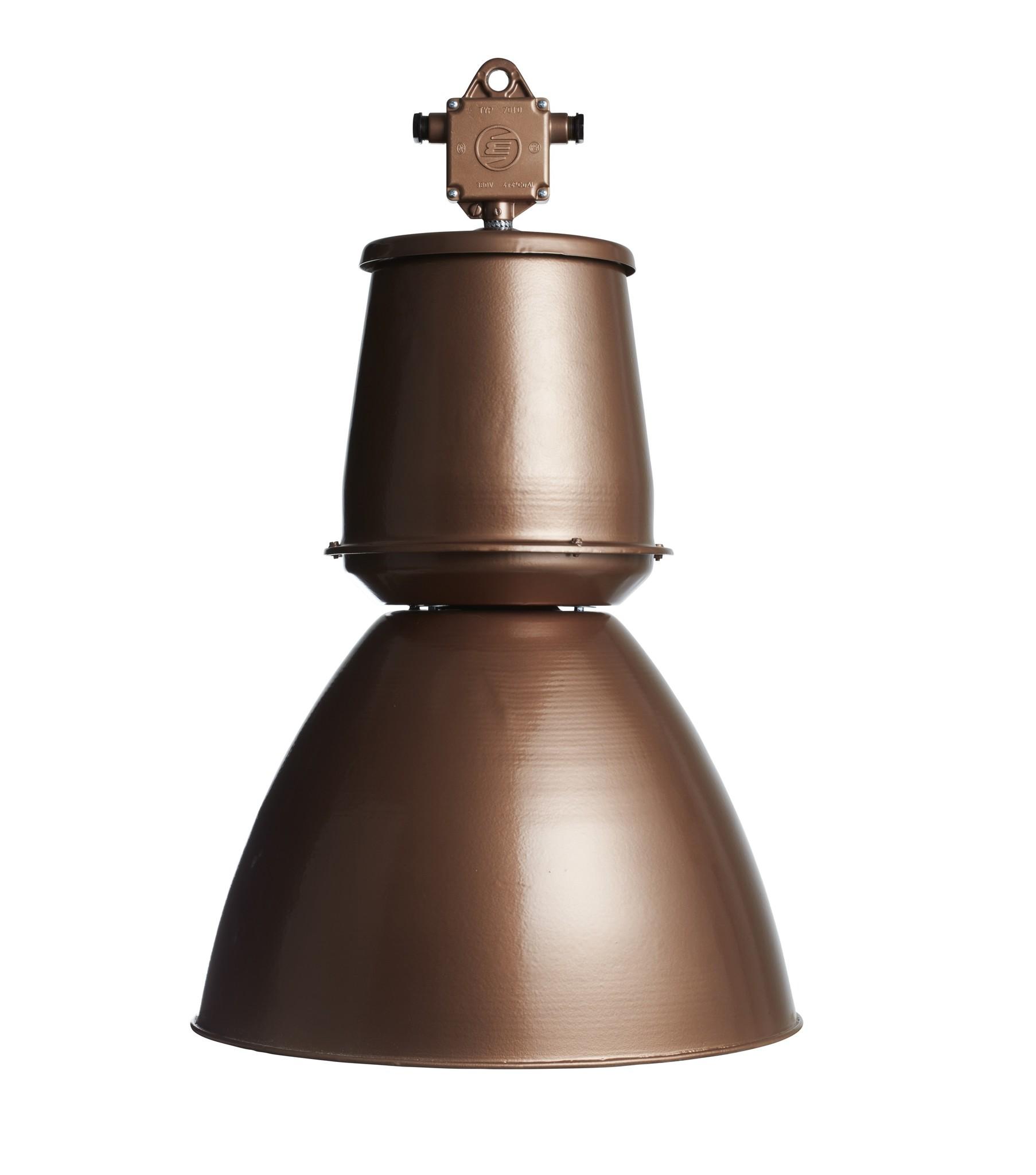 Industriële lamp - Barrel  koper