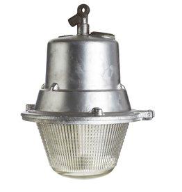 Industriële lamp- Zuza met glas
