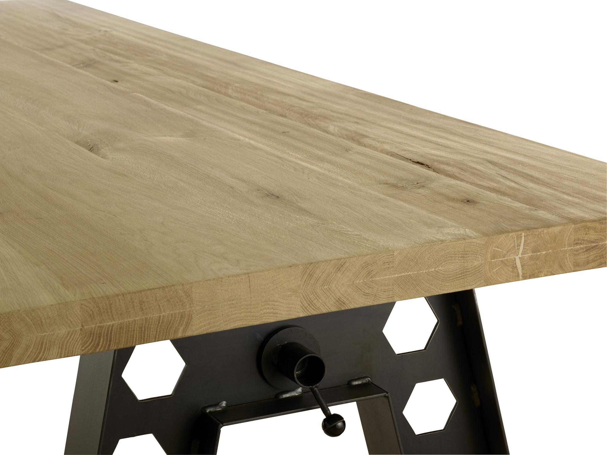 Eiken houten tafel - Austin