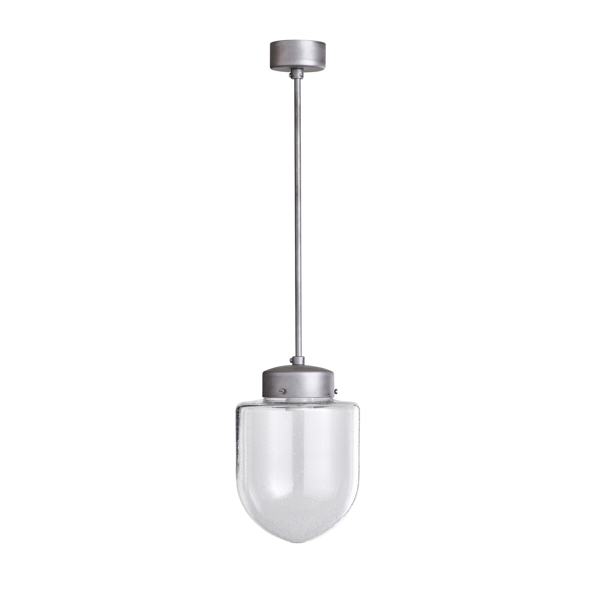 Glazen lamp klein