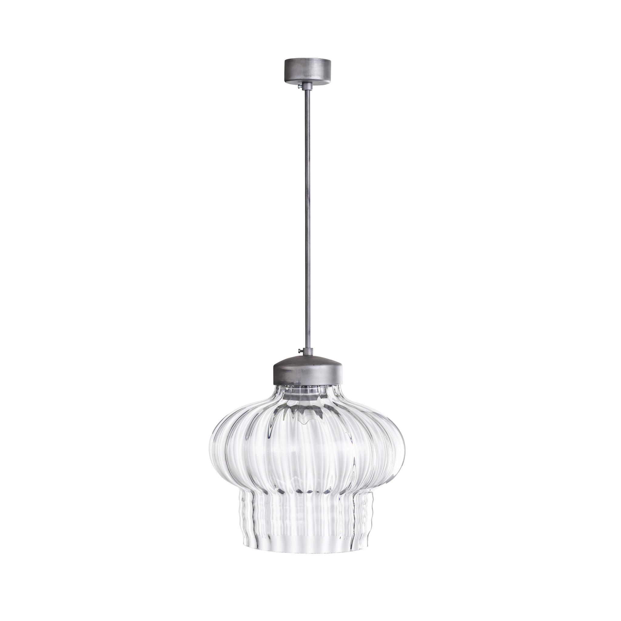 Vintage lampen van glas