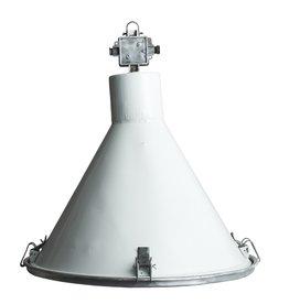 Industriële lamp - Bruno met glas