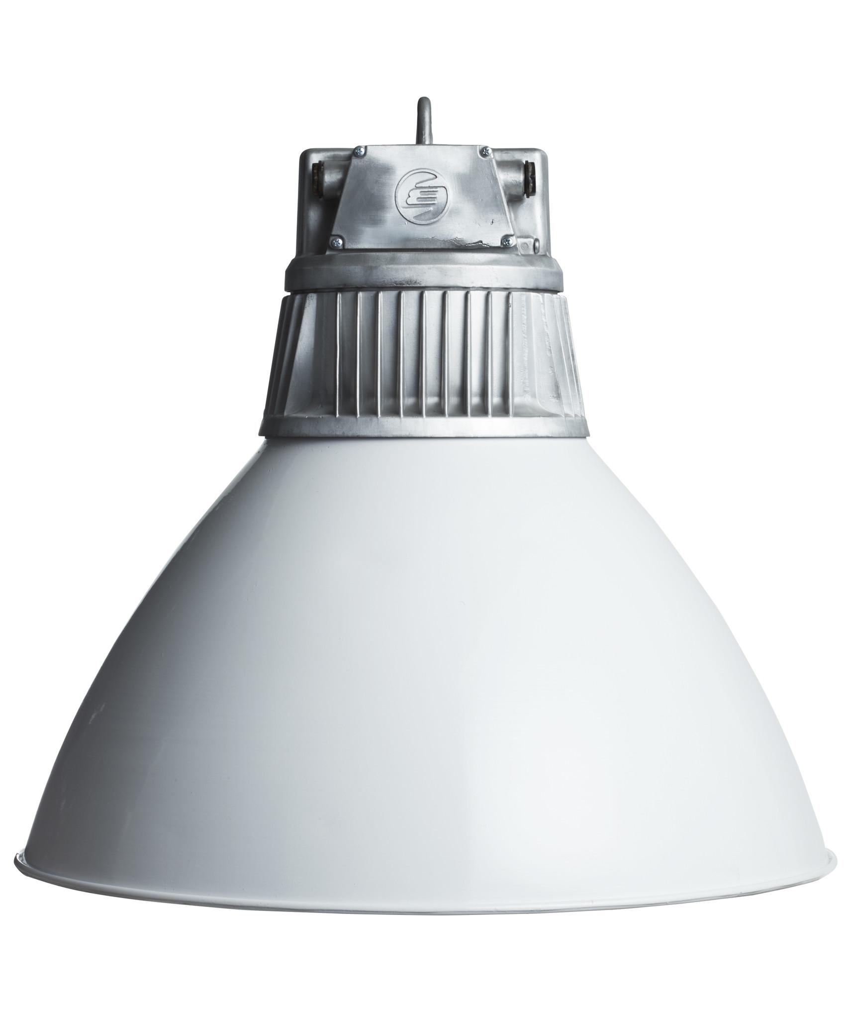 oldwood Industriële lamp - Levi gepolijste ribkop
