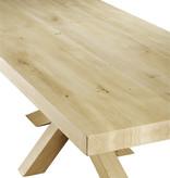 Tafel Eiken houten tafel - Madrid