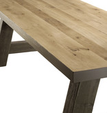Tafel Houten tafel - Milaan-Poten RAL kleur
