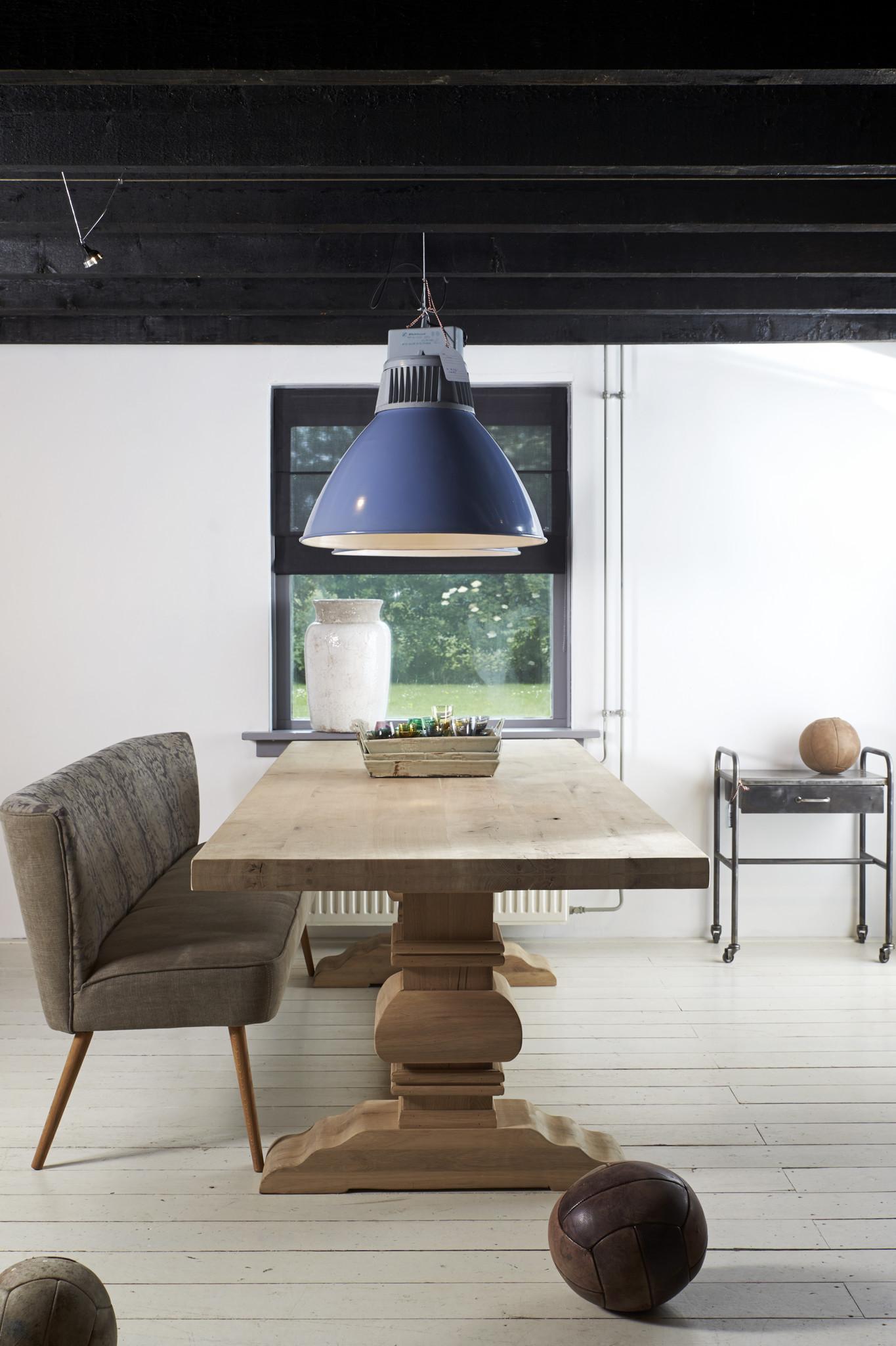 Eiken houten tafel - Parijs