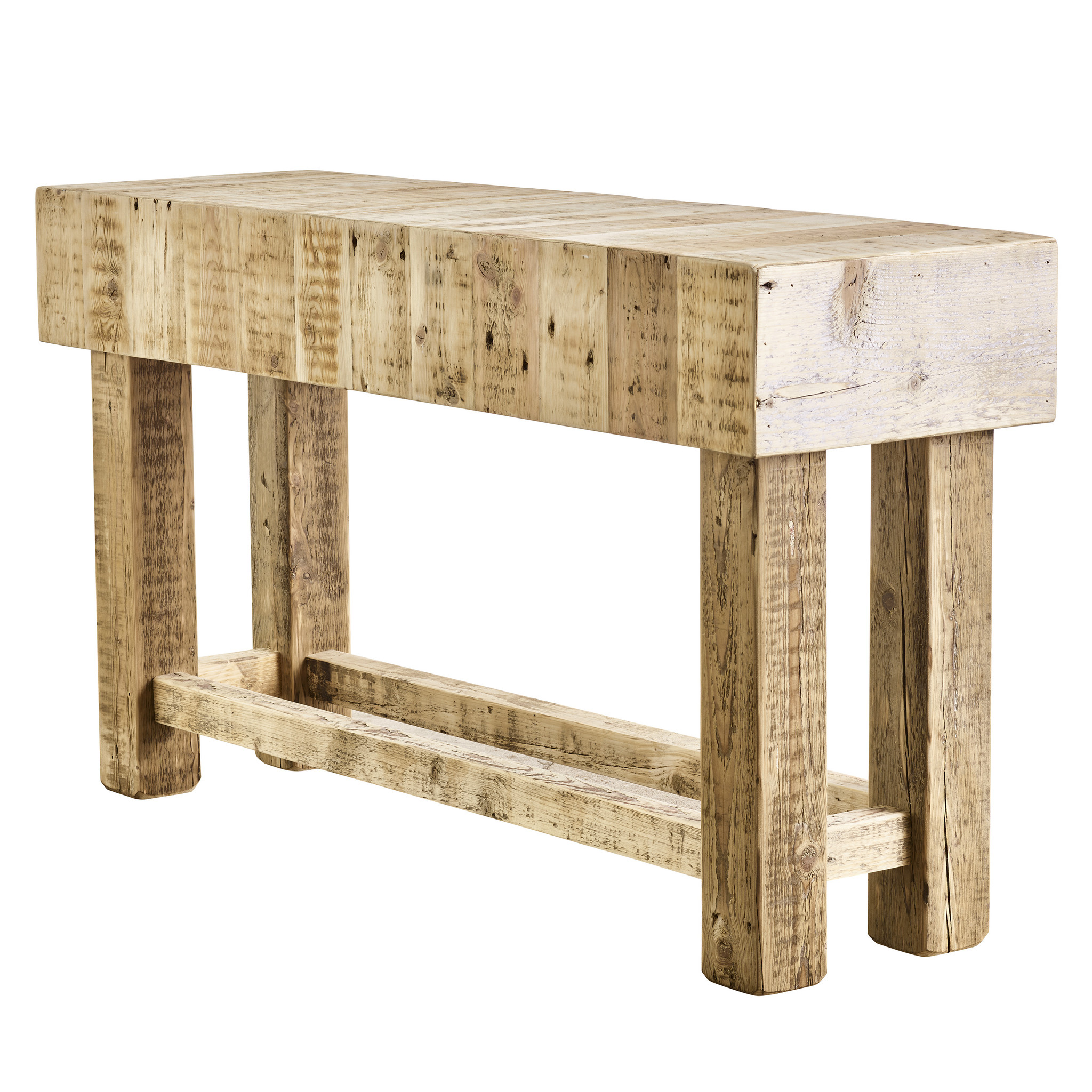 Side Table Oud Eiken.Stoere Oud Eiken Sidetable Bordeaux