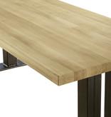 Eiken houten tafel - Spitsbergen