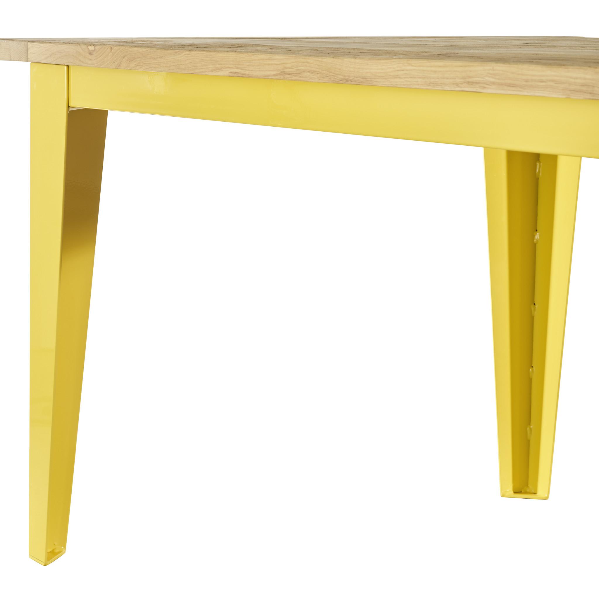 Tafel Oud eiken houten tafel - Malaga