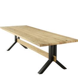 Tafel eiken tafel - Harlem,  oud eiken