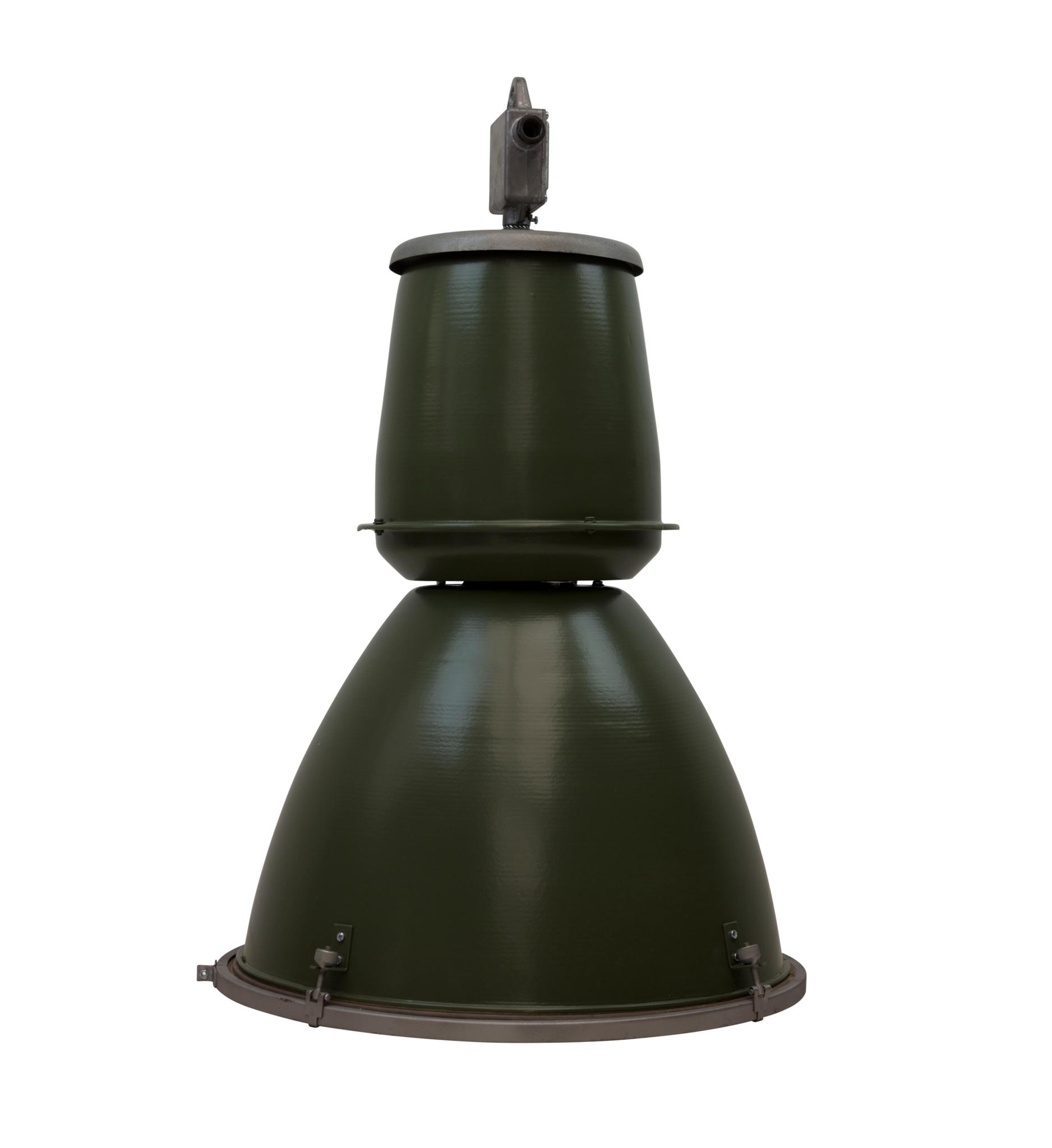 Industriële lamp - Barrel groen