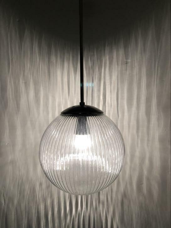 Vintage art deco hotel lamp