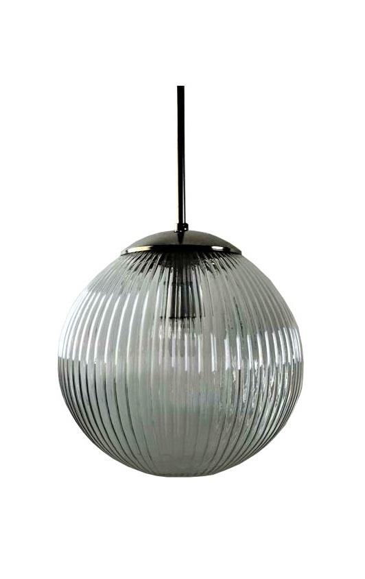 Vintage glazen lamp