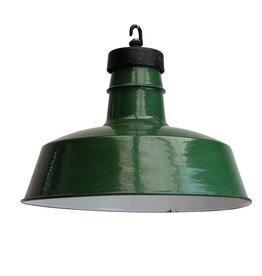 Industriële lampen - Engelse lamp groen
