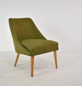 Vintage groene stoel