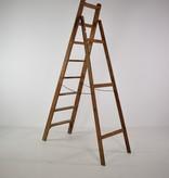 Vintage houten ladder
