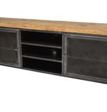 TV meubel met grenen blad