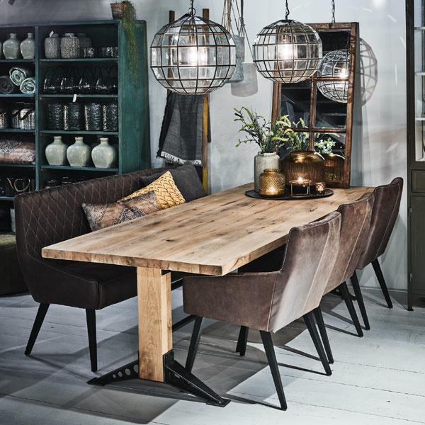 Stoere tafels van Oldwood