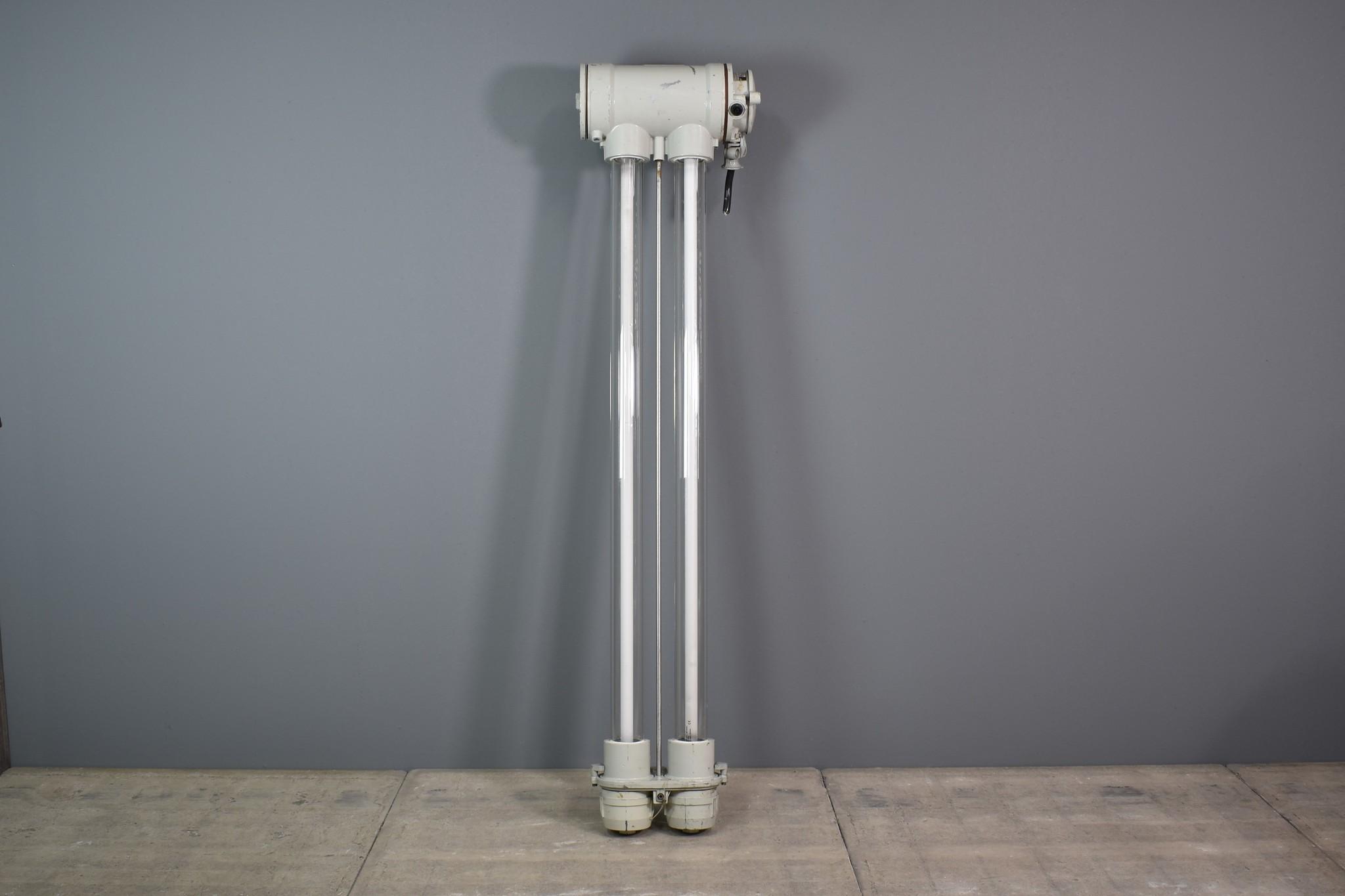oldwood industriele tl tube dubbele glas