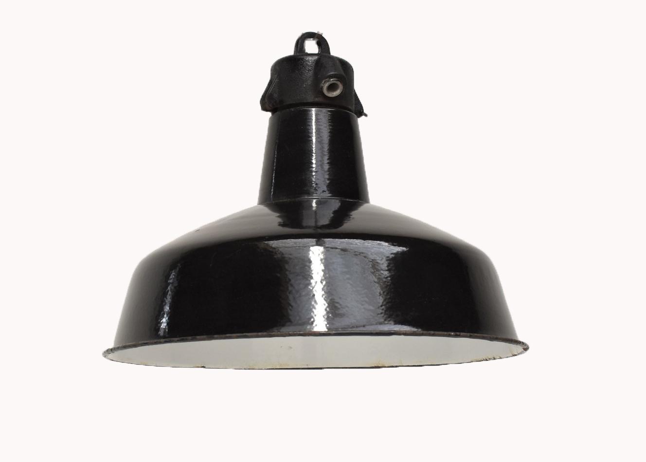oldwood zwarte lamp - Bauhaus nr'8