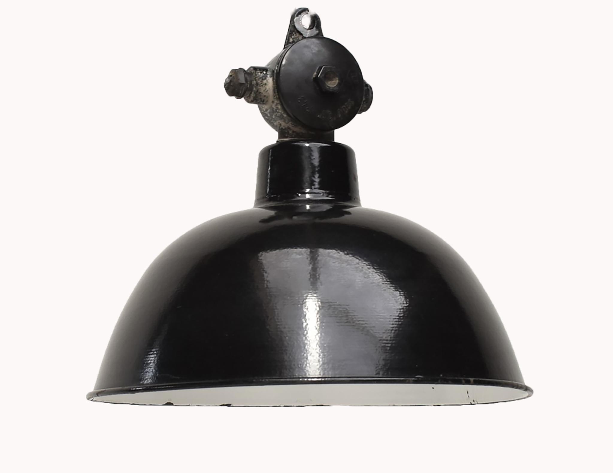 oldwood Industriële lamp - Bauhaus nr'9