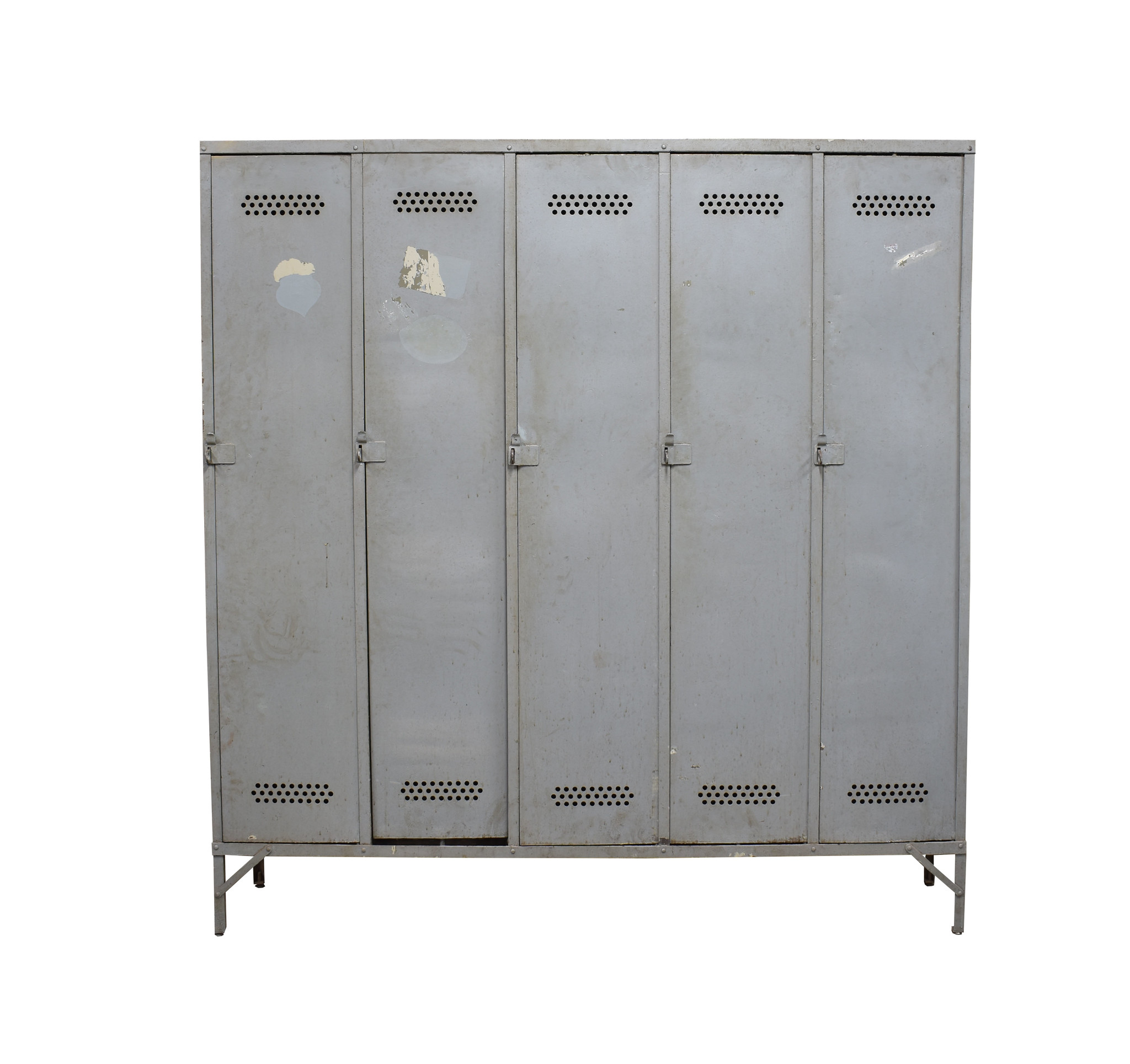 oldwood Stoere metalen locker
