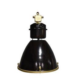Lampen Industriële lamp - Viktor met gouden ring