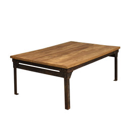 Tafel industriele salontafel