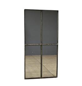 Industrieel accessoire Stalraam spiegel