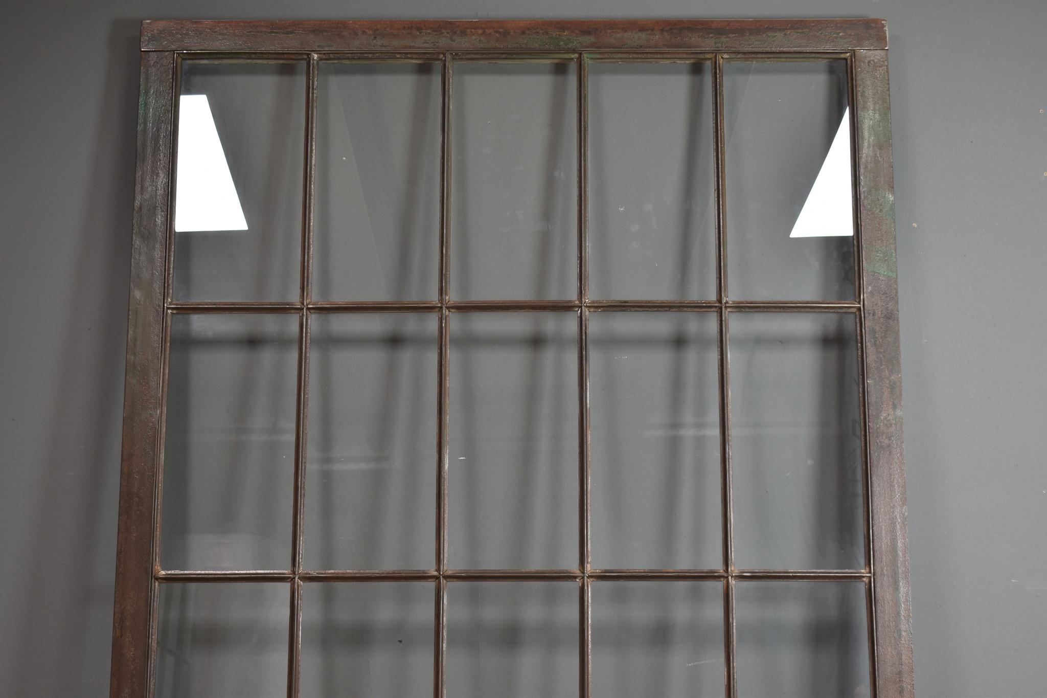 Industrieel accessoire stalraam incl; glas