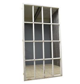 Industrieel meubel raam spiegel