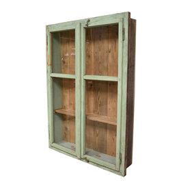 oldwood vintage inbouw kast