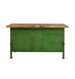 Groene werkbank