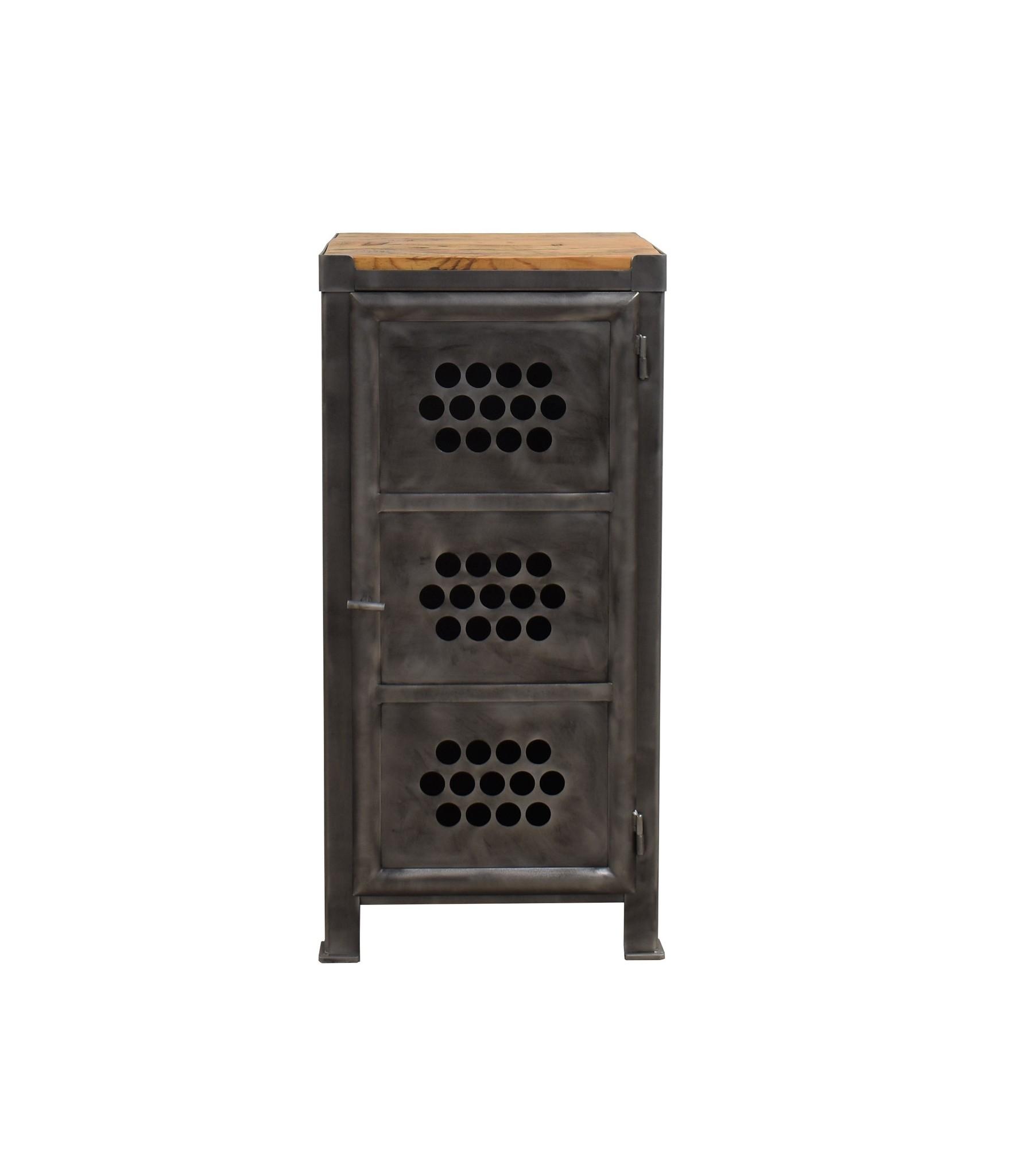Industrieel meubel Eéndeurs locker