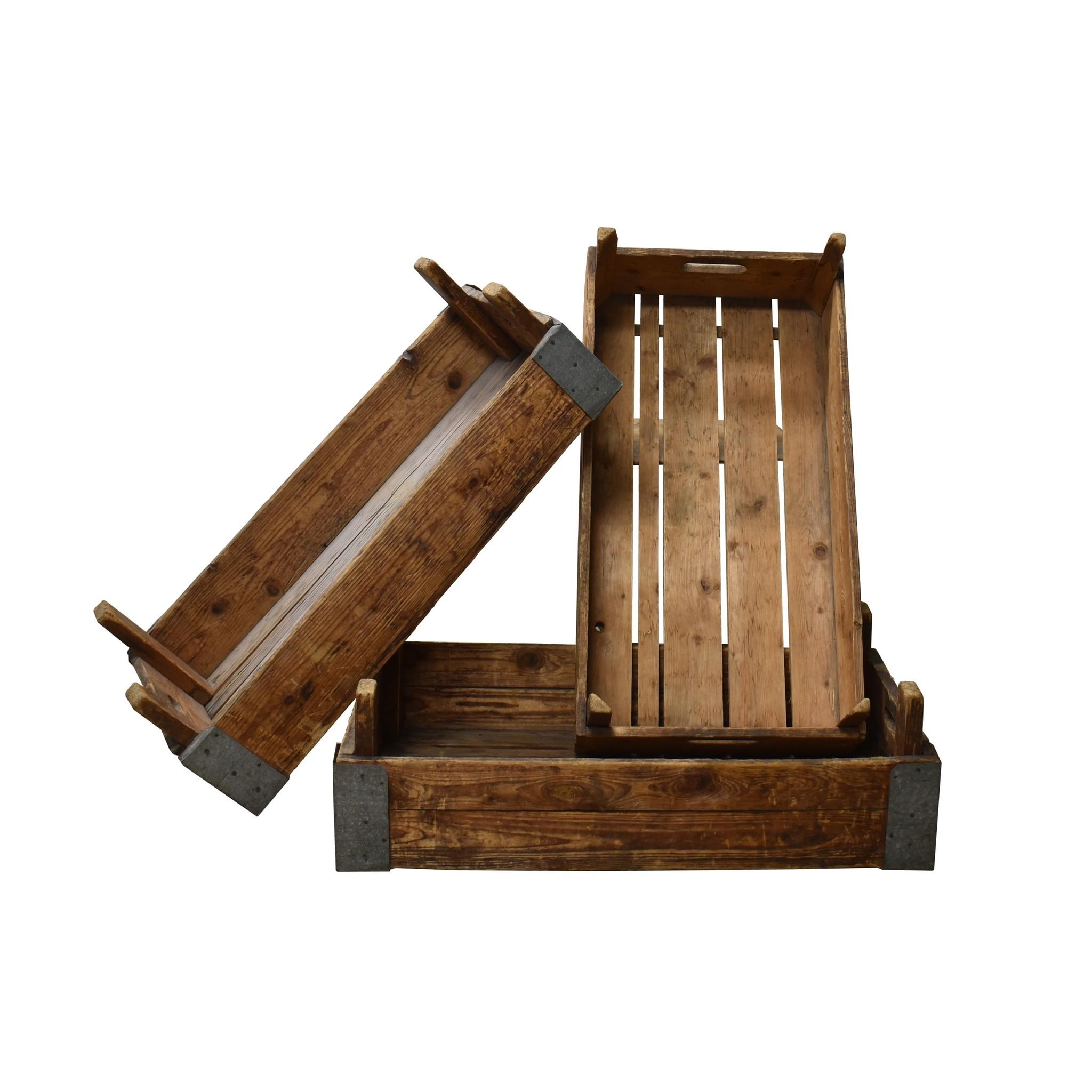kisten oude houten kist