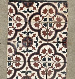 vloertegel - met patroon