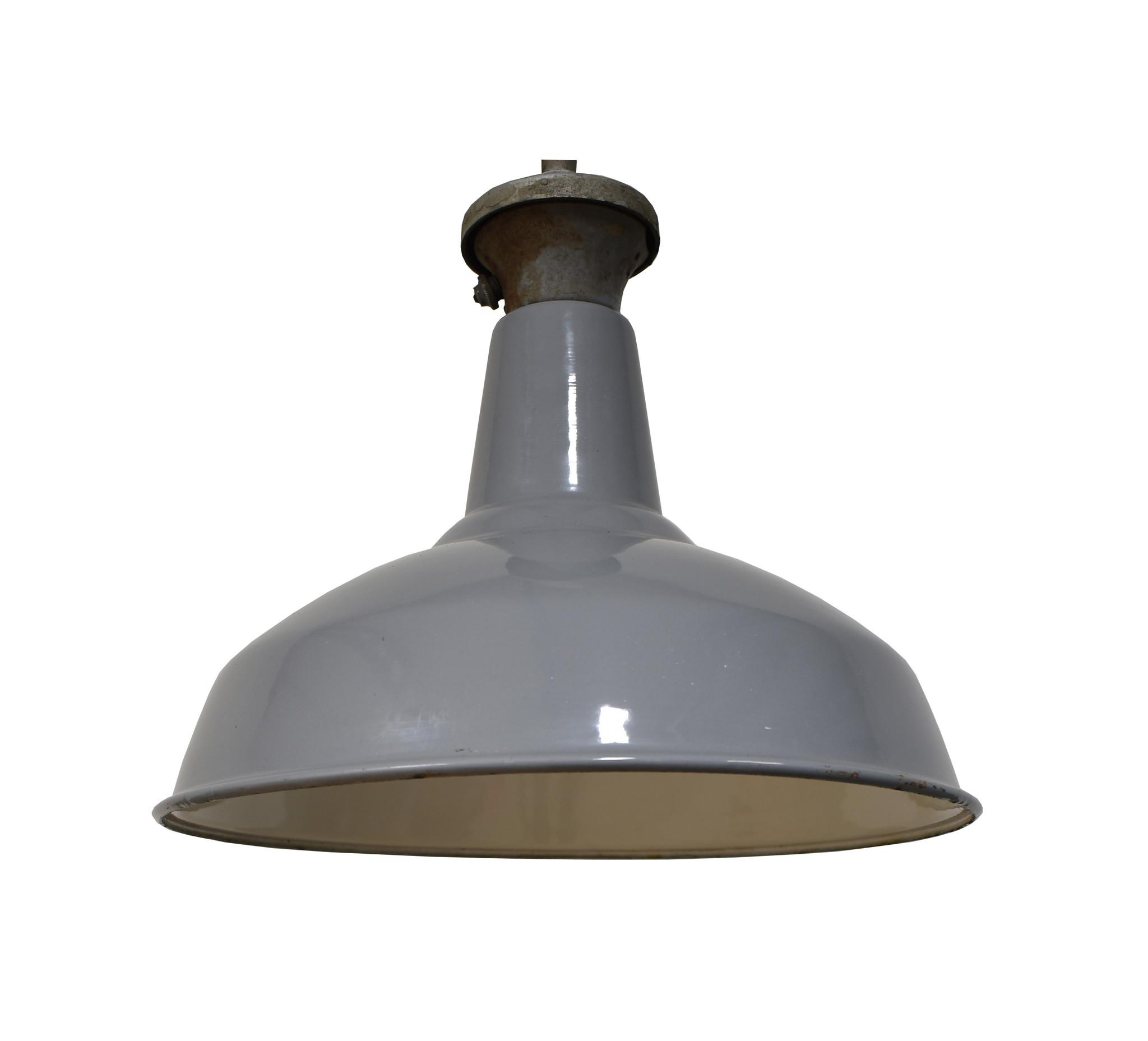 Engelse lamp grijs